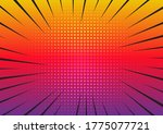 retro styled starburst... | Shutterstock .eps vector #1775077721