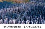 3d render of an abstract... | Shutterstock . vector #1775082761