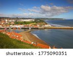 Landscape Image Of Whitby With...