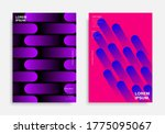 abstract geometric poster... | Shutterstock .eps vector #1775095067