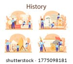 History Concept Set. History...