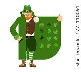 St Patricks Day. Leprechaun...