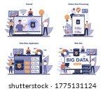 big data online service or... | Shutterstock .eps vector #1775131124