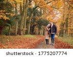 Loving Senior Couple Holding...