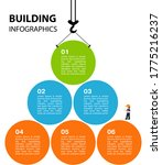 bright infographics on the... | Shutterstock . vector #1775216237