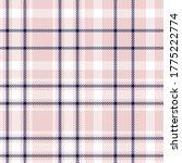 pink navy glen plaid textured...