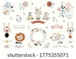 vector kids elements. good for...   Shutterstock .eps vector #1775355071