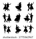 Hungarian Csardas Folk Dancers...
