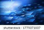 high speed. hi tech. abstract... | Shutterstock .eps vector #1775371037