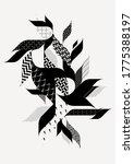 abstract decorative retro... | Shutterstock .eps vector #1775388197