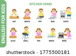 english for kids playcard.... | Shutterstock .eps vector #1775500181