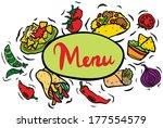 mexican restaurant food menu...