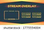 game play stream overlay  panel ...