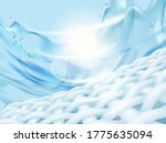 clean cloth closeup with... | Shutterstock .eps vector #1775635094