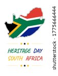 heritage day concept  flag in...   Shutterstock .eps vector #1775666444