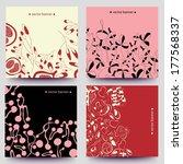 a set of vector web  banners... | Shutterstock .eps vector #177568337