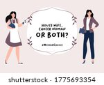 difficult choice and search of...   Shutterstock .eps vector #1775693354