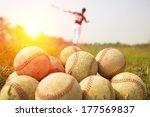 Baseball Players Practice Wave...