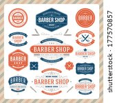 barber shop vintage retro... | Shutterstock .eps vector #177570857