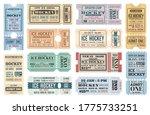 ice hockey sport game retro... | Shutterstock .eps vector #1775733251