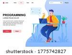 programming flat landing page...