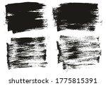 flat paint brush thin short...   Shutterstock .eps vector #1775815391