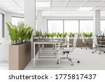 Interior Of Loft Open Space...