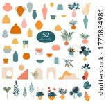 collection of stickers and... | Shutterstock .eps vector #1775834981