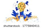 businessman and lady group with ...   Shutterstock .eps vector #1775840411