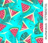 seamless pattern with...   Shutterstock .eps vector #1775850731
