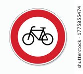 Traffic Sign Ban For Bicycles....