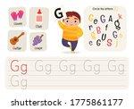 kids learning material.... | Shutterstock .eps vector #1775861177
