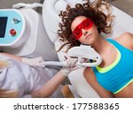 woman getting laser face... | Shutterstock . vector #177588365