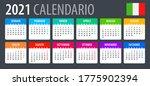 2021 calendar   vector template ... | Shutterstock .eps vector #1775902394