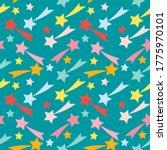 seamless pattern  multi... | Shutterstock .eps vector #1775970101