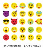 high quality emoticons isolated ... | Shutterstock .eps vector #1775975627