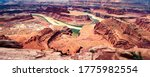 Horseshoe Canyon in Canyonlands National Park in Utah, USA