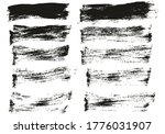 flat paint brush thin short...   Shutterstock .eps vector #1776031907