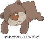toy bear cartoon | Shutterstock .eps vector #177604124
