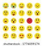 high quality emoticons isolated ...   Shutterstock .eps vector #1776059174