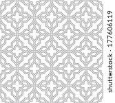 abstract pattern in arabian... | Shutterstock .eps vector #177606119