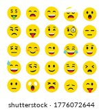 high quality emoticons isolated ... | Shutterstock .eps vector #1776072644