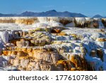 Hot Water Cascades Over The...