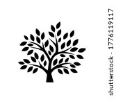 trees  forest  plant icon set | Shutterstock .eps vector #1776119117