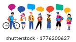 back to school background ... | Shutterstock .eps vector #1776200627
