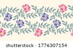 seamless asian textile floral... | Shutterstock .eps vector #1776307154