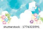 a refreshing morning glory like ... | Shutterstock .eps vector #1776323591