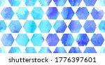 morrocan ornament of blue... | Shutterstock .eps vector #1776397601