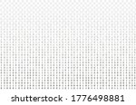 vector transparent matrix data... | Shutterstock .eps vector #1776498881