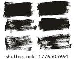 flat paint brush thin short...   Shutterstock .eps vector #1776505964